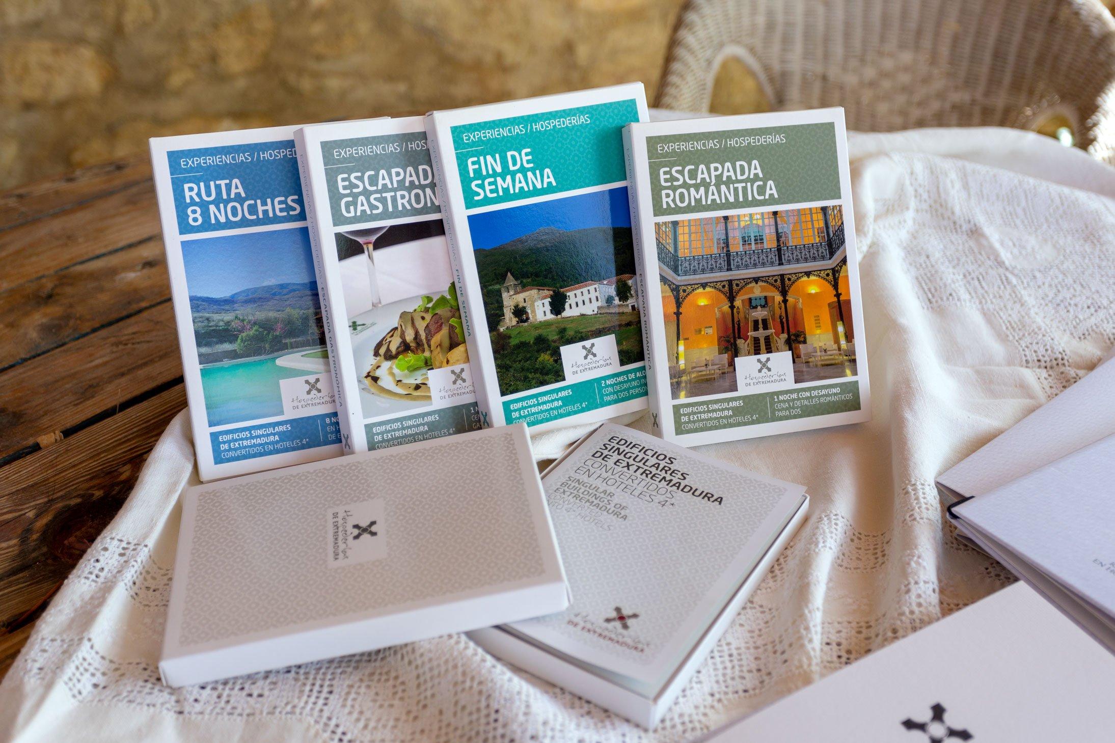 Las Hospederías de Extremadura en una caja de regalo