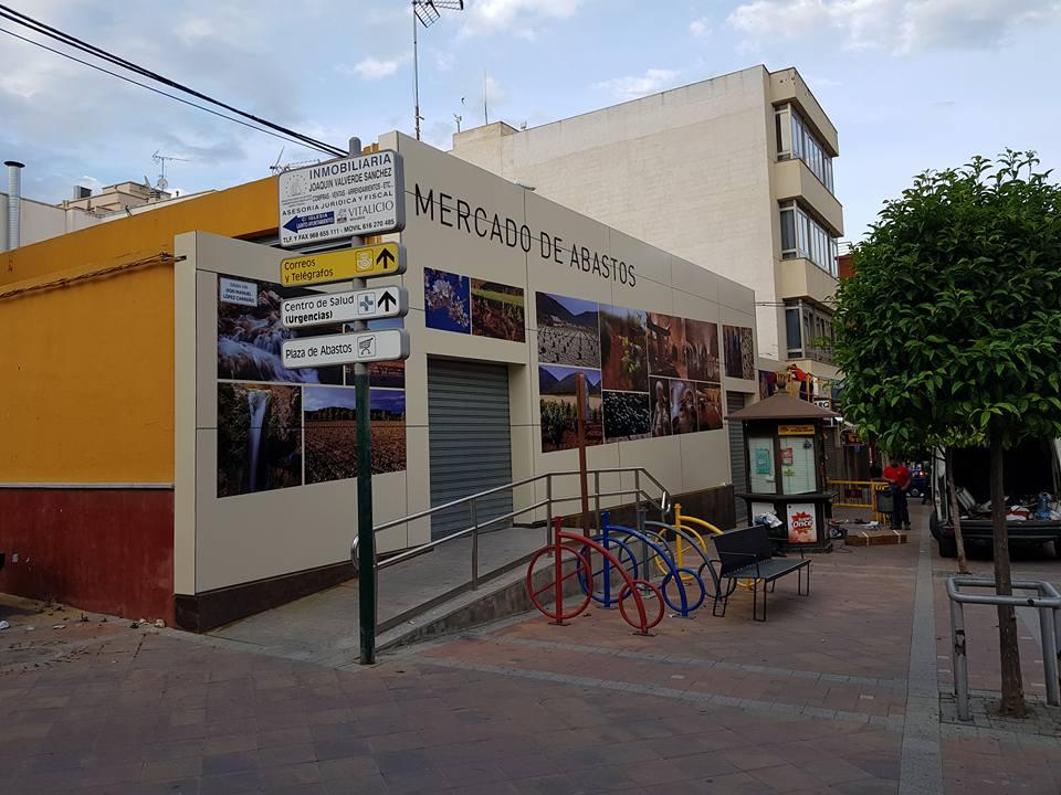 El Mercado de Bullas mejora su fachada con un moderno diseño