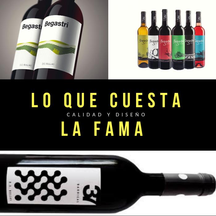 La etiqueta de vino en el lineal tiene que destacar por necesidad