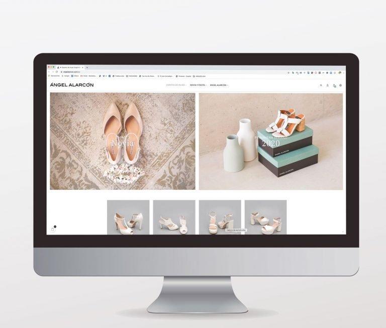 Diseño tienda online. Azalea Comunicación
