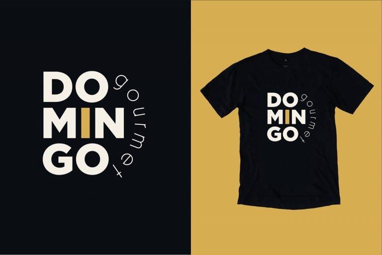 Camiseta Domingo