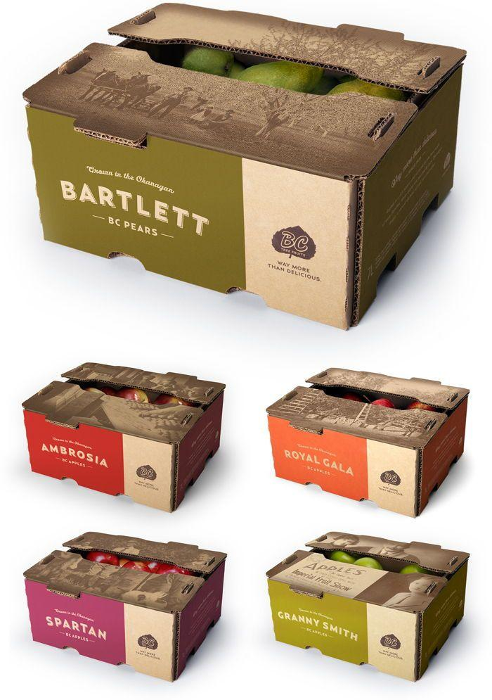 Packaging para sector hortofrutícola. Azalea Comunicación