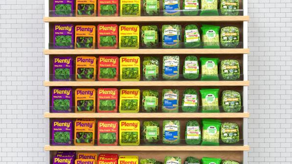 La estrategia psicológica para las verduras